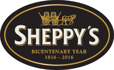 Sheppy's Cider - 200 Years Logo